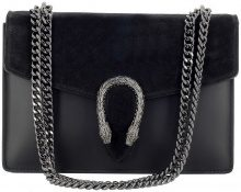 Borsa a tracolla Dream Leather Bags Made In Italy  Borsa Donna A Tracolla In Vera Pelle Colore Nero - Pelletteria T