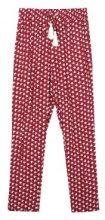 Pantaloni leggeri a vita alta con stampa all-over