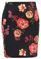 Dorothy Perkins FLORAL Gonna a tubino red