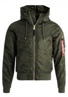 Alpha Industries Giacca invernale dark green gold