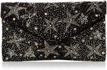 New Look Sylvie Star - Pochette da giorno Donna, Black, 3x15x20 cm (W x H L)