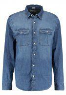 Hollister Co. TERRY Camicia blue stretch denim