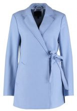 Banana Republic MELTON LARGE COLLAR Cappotto corto sky blue