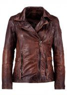 Gipsy ADVANCE LATEOV Giacca di pelle vintage brown