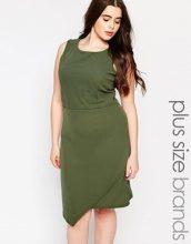 Praslin Plus - Vestito con fondo asimmetrico