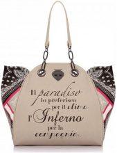 Borsa Shopping Le Pandorine  CLASSIC MINI Borsa Donna Taupe