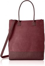 Royal Republiq New Suede - Borse Tote Donna, Rot (Bordeaux), 13.5x39.5x34.5 cm (B x H T)