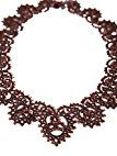 Lorina Jewellery           FASHIONNECKLACEBRACELETANKLET, colore: nero/rosso, cod. Lucia-N-1W5