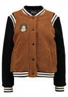TWINTIP NEW COLLEGE TEDDY Giubbotto Bomber brown