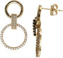 Orecchini Fashionvictime  Orecchini Donna  - Gioiello Metallo Oro - Cristallo