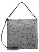 s.Oliver RED LABEL HOBO Shopping bag frost grey