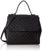 Tamaris Aura Handbag - Borsa Donna, Schwarz (Black), 17x23x29 cm (B x H T)