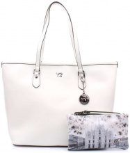 Borsa Shopping Y Not?  ? 797-B Shopping Donna Bianco