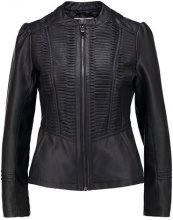 Wallis Petite PLEAT GOTHIC  Giacca in similpelle black