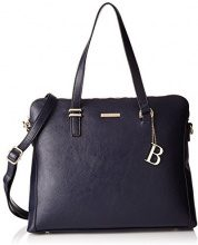 Bulaggi Hartley Laptop Bag - cartella Donna, Blau (Dunkel Blau), 29x09x36 cm (B x H T)