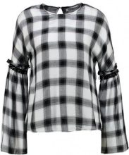 Glamorous Tall CHECK  Camicetta black check