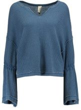 Free People DAHLIA THERMAL Maglione sapphire