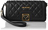 Love Moschino JC4003, Clutch Donna, Nero (Black), 5x14x28 cm (B x H x T)