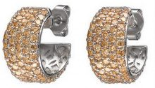 Esprit Collection - Orecchini a lobo da donna con zirconia cubica, argento sterling 925, cod. ELER91184D000