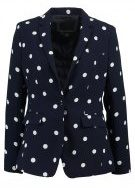 Banana Republic DRAPEY POLKA DOT  Blazer blue