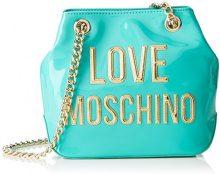 Love Moschino Moschino - Borse a spalla Donna, Türkis (Mint), 9x19x26 cm (B x H T)