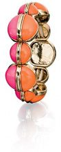 Fiorelli Costume da donna, con elastico, colore: arancione e rosa, lunghezza regolabile 20 cm
