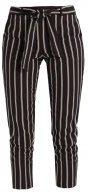 Dorothy Perkins STRIPE TEXTURED TROUSER Pantaloni black