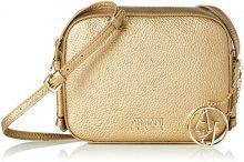 Armani Jeans Borsa Tracolla - Borse Baguette Donna, Gold (Oro), 16x6x20 cm (B x H T)