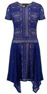 BCBGMAXAZRIA Vestito elegante blue depth