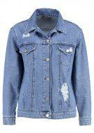 Dorothy Perkins OVERSIZED Giacca di jeans indigo