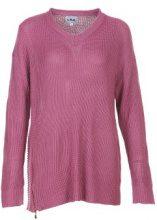 Pullover a maglia con zip