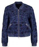 Needle & Thread WILD MEADOW Giubbotto Bomber bleach indigo