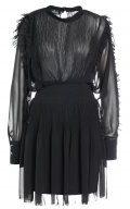 DESIGNERS REMIX LILA Vestito elegante black
