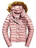Superdry G50017YPF1, Giacca Sportiva Donna, Rosa (Shimmer Pink), Medium (Taglia produttore:M)