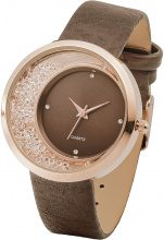 Orologio con strass (Marrone) - bpc bonprix collection