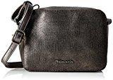 Tamaris Alia Crossbody Bag - Borse a tracolla Donna, Grau (Pewter Comb), 5x14x20 cm (B x H T)