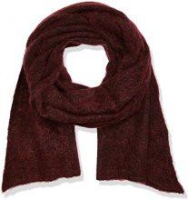 Stefanel, SCIARPA MISTO MOHAIR - sciarpa da donna, colore 1485 rosso, taglia UN.