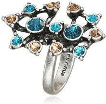Pilgrim Jewelry - Anello, Cristallo, Ottone