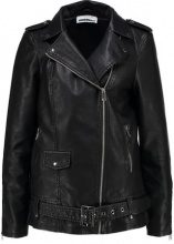 Noisy May BIKER Giacca in similpelle black