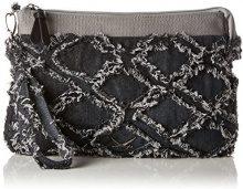 Sansibar Clutch Bag - Pochette da giorno Donna, Grau (Dim Grey), 4x20x32 cm (B x H T)