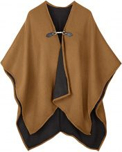 Poncho con fibbia (Marrone) - bpc bonprix collection