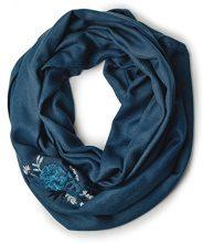 Cecil 570481, Cappello di Feltro Donna, Blau (Deep Petrol Blue 31087), Taglia Unica