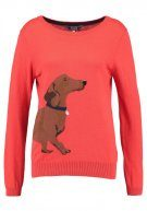 Tom Joule Maglione soft red daschund