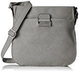 Gerry Weber Talk Different Ii Shoulderbag Lvz - Borse a tracolla Donna, Grau (Lightgrey), 6x26x28 cm (B x H T)