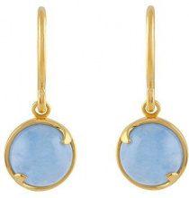 Ivy Gems Donna  925  argento Rotonda   blu Giada