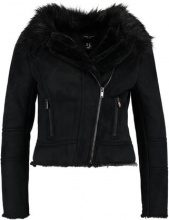 New Look Petite BAMBI BIKER Giacca in similpelle black