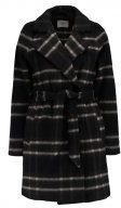 Envii ENPLAY CHECK Cappotto corto brown