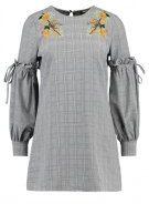 Fashion Union Petite SHOLAY POW CHECK Vestito estivo grey
