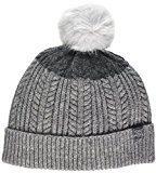Joules Bobble Hat, Cuffia Donna, Grey (Light Grey), Taglia Unica
