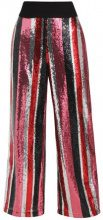mint&berry FULLY SEQUIN STRIPE Pantaloni multicoloured